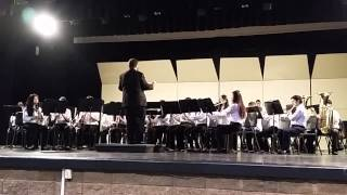 Albright Middle school symphonic band Pre-UIL