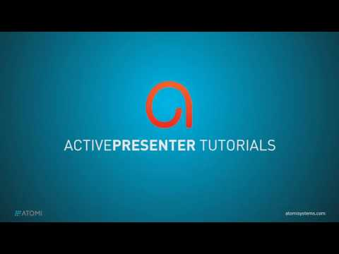 How to Start and Stop Recording in ActivePresenter