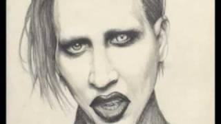 Marilyn Manson Drawing - Marilyn Manson Portrait - Art Prints