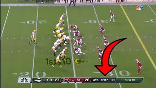 Teams Giving Aaron Rodgers Too Much Time Compilation