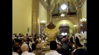Salida de la Virgen de San Juan de los Lagos el 15 de Agosto de 2012