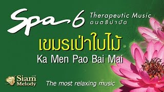 Spa Music 6 ดนตรีบำบัด เพลงสปา - เขมรเป่าใบไม้ ►Official MUSIC◄