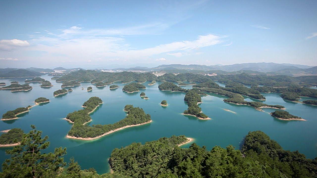 중국여행 Thousand Island Lake Promo 천도호 프로모션 영상 하나투어 스티커
