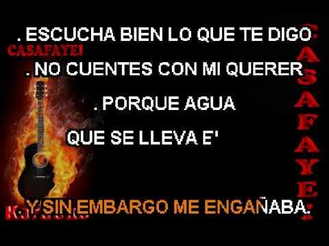 Miguelito Miguel  No Quieras Volver Karaoke)DEMO 1
