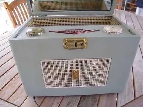 PHILCO Model #D665-124 Mirror Vanity AM Radio...COOL!!