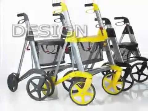 Active walker design rollator - for Norwegian design award - Kuhn und Bieri AG