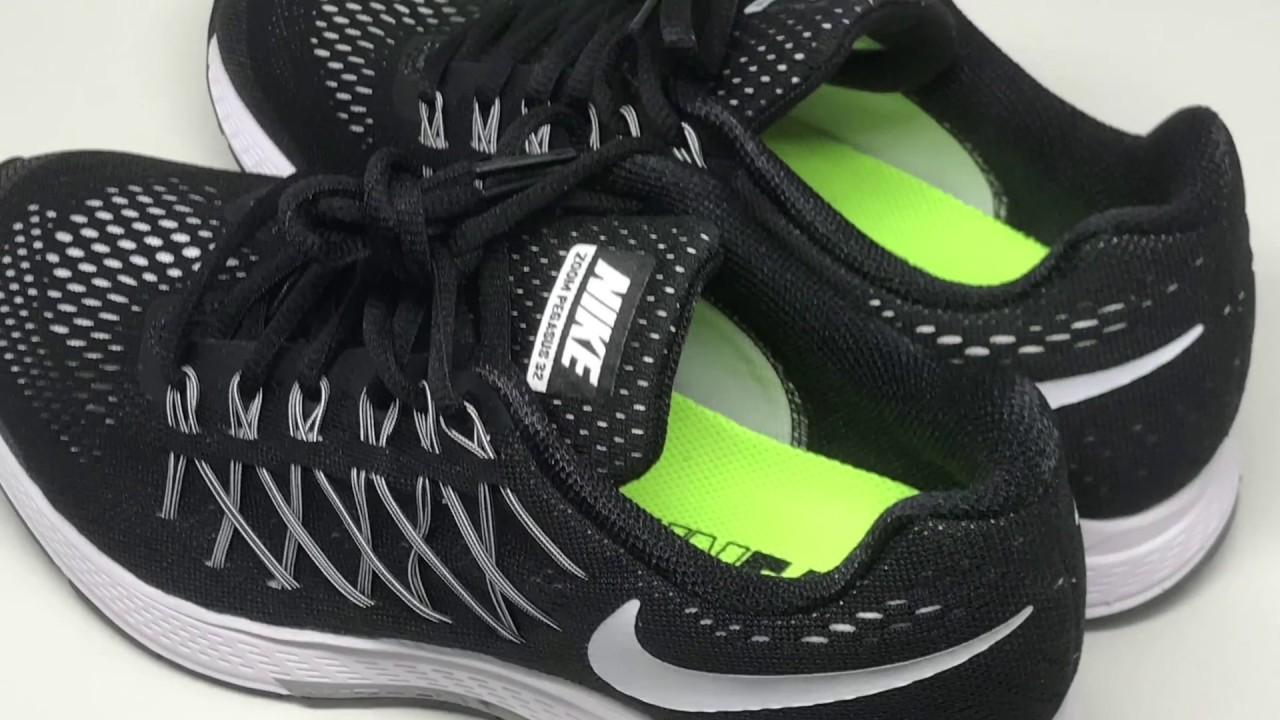 design de qualité 7febd 087d1 Nike Air Zoom Pegasus 32 (Black/White-Dark Grey)【4K】
