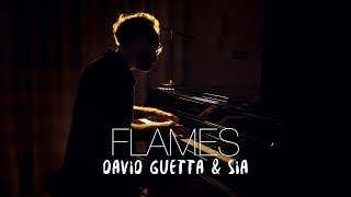 FLAMES - David Guetta & Sia (Piano Cover) | Costantino Carrara