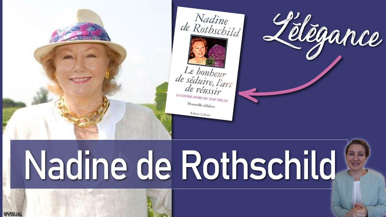 Guide Des Bonnes Manieres Rothschild les 21 conseils de l'élégance vestimentaire de nadine de rothschild pour  les femmes !