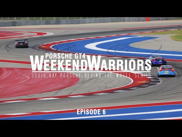 Porsche GT4 Weekend Warriors Finale (Ep.6)