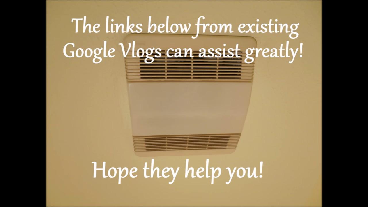 Bathroom exhaust fan stopped working youtube - Bathroom exhaust fan stopped working ...