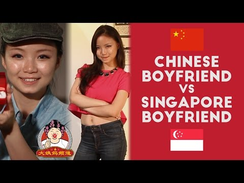 Chinese Boyfriends vs. Singapore Boyfriends - BigAuntie