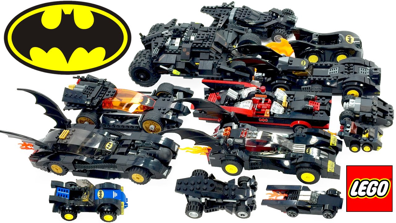 lego batman batmobile collection brickqueen youtube. Black Bedroom Furniture Sets. Home Design Ideas