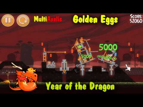 Angry Birds Seasons Year of the Dragon Golden Eggs (ALEX)