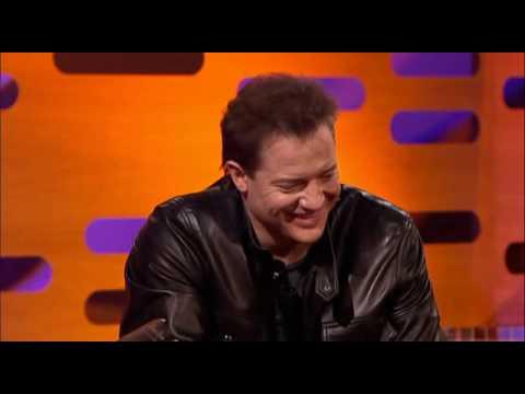 Brendan Fraser on Graham Norton - Uncut (3/4)