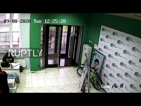 Russia: Navalny allies report attack on campaign office in Novosibirsk