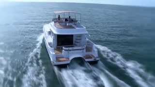 Fountaine Pajot motor yachts - catamaran SUMMERLAND 40 LC  BoatMarket Moscow(Boatmarket - sale of Fountaine Pajot motor catamarans in Moscow http://www.boatmarket.ru/, 2014-09-19T22:09:49.000Z)