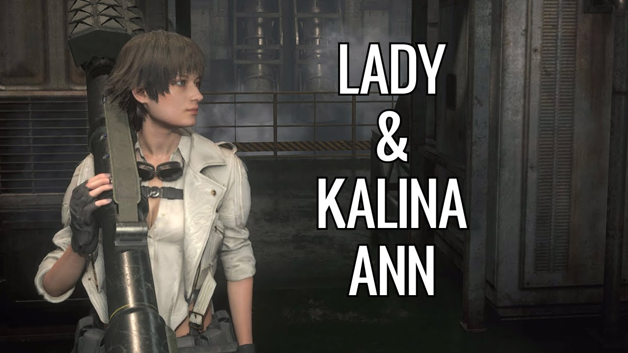 Steam Community :: Video :: Lady and Kalina Ann - Resident Evil 2 (mod)