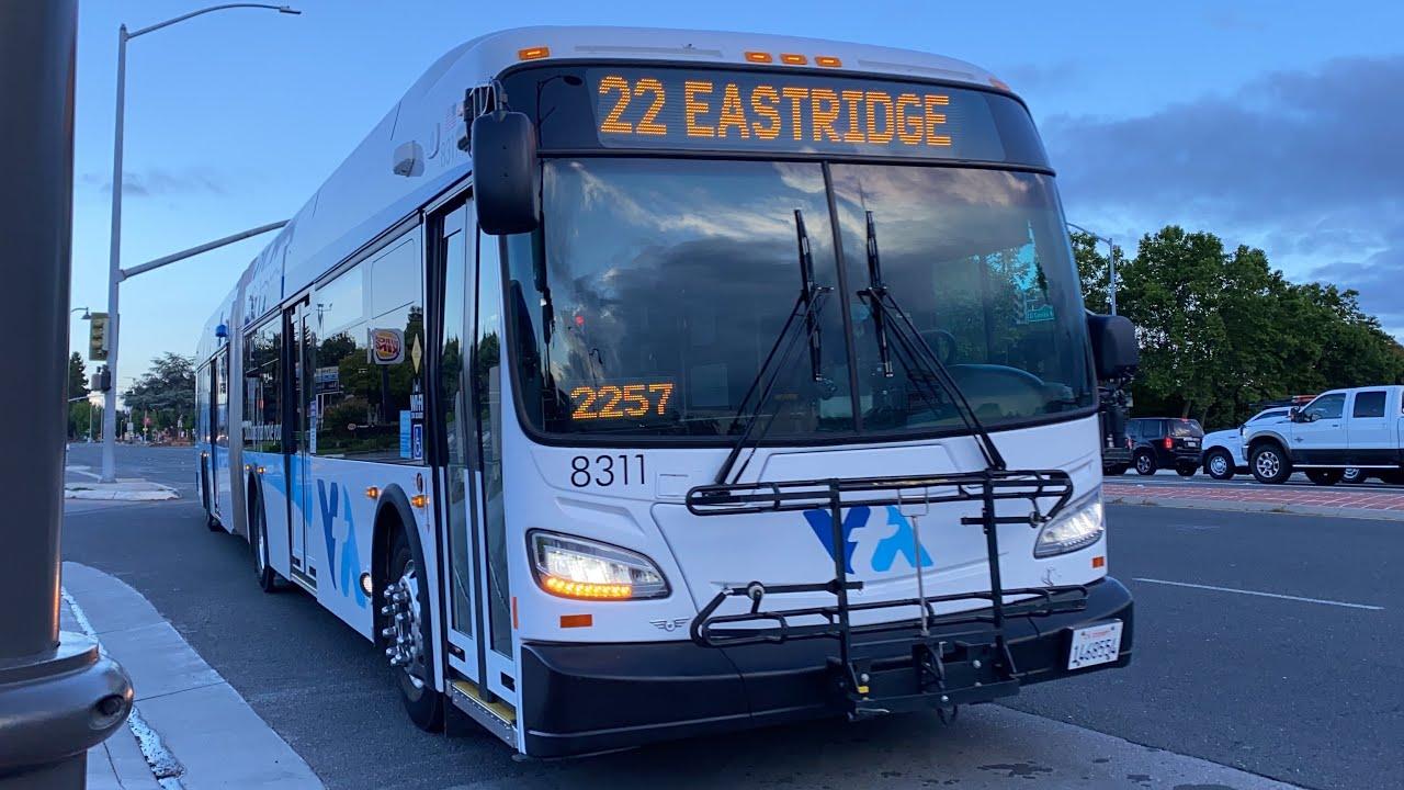 Santa Clara VTA 2018 New Flyer XDE60 #8311