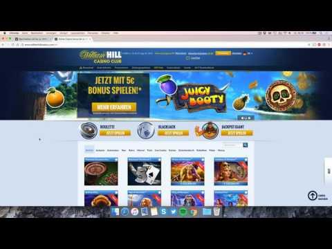 William Hill Casino Club: Kontoeröffnung & Bonus