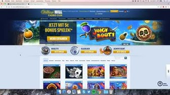 William Hill Casino Club: Kontoeröffnung & Bonus