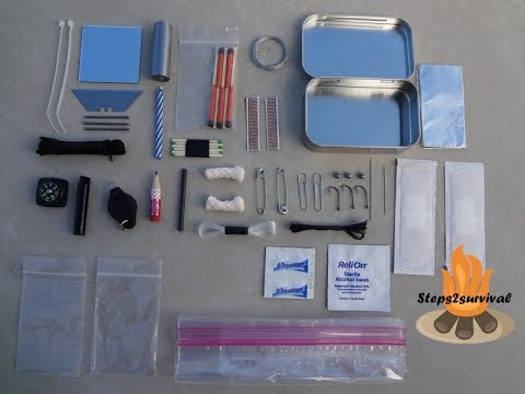 Altoids Tin Edc Kit Cheap And Easy Urban Survival Kit