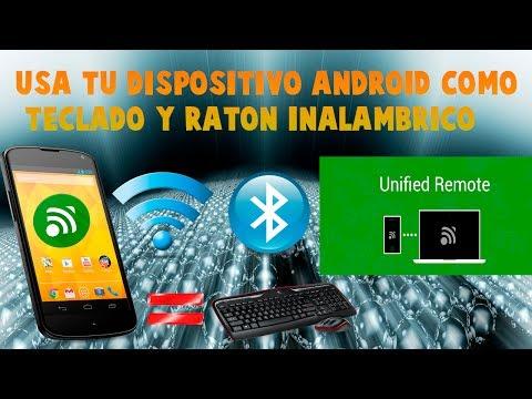 Usa Tu Dispositivo Android Como Teclado Y Raton Inalambrico - Unified Remote