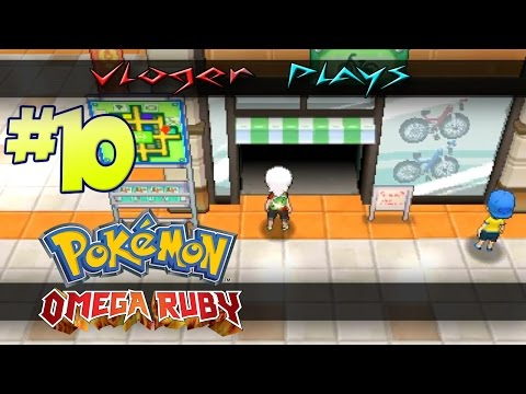Pokemon Omega Ruby #10 Where Is The Bike Shop