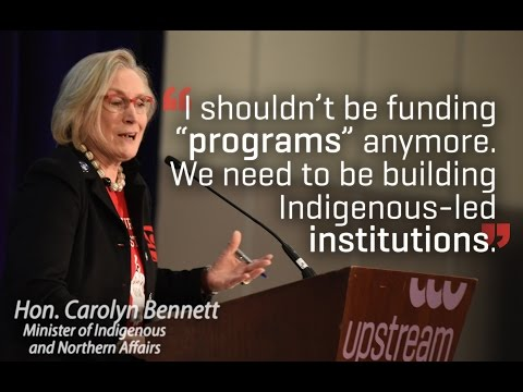 Leadership should ask, not tell | Carolyn Bennett