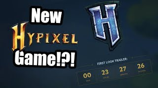 Hypixel is making a hole new game!?!
