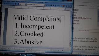 Lion News: File Complaints Against Crooked Cops Lawyers And Judges