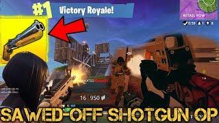 SAWED-OFF SHOTGUN OP 5v1 - Fortnite Battle Royale & Siege
