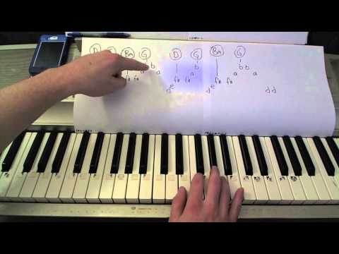 Daylight- Piano Lesson- Maroon 5  (Todd Downing)