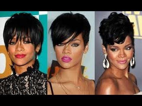 Hommade Short Wig Easy Beginners Rihanna Youtube