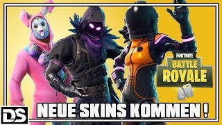 Fortnite Battle Royale Deutsch - Raven, Rabbit Raider, Dark Void Skins uvm kommen (Fortnite Gameplay