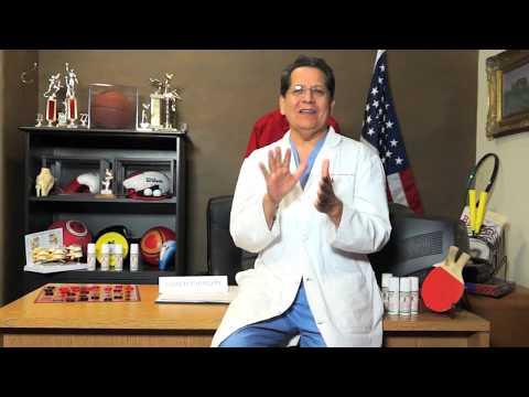 Dr. Carrasco Talks Pain Cream and his new spokesman, The Coach