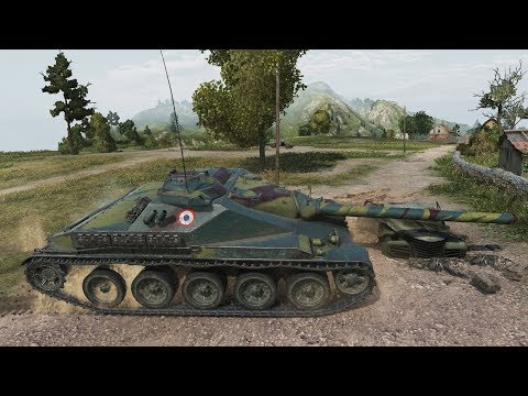 World of Tanks AMX Canon d'assaut 105 NEW FRENCH PREMIUM TD - Swamp