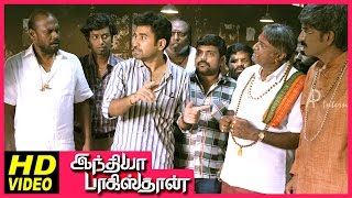 India Pakistan Tamil Movie | Scenes | Vijay Antony fools Sharath Lohitashwa | Sushma Raj | Pasupathy