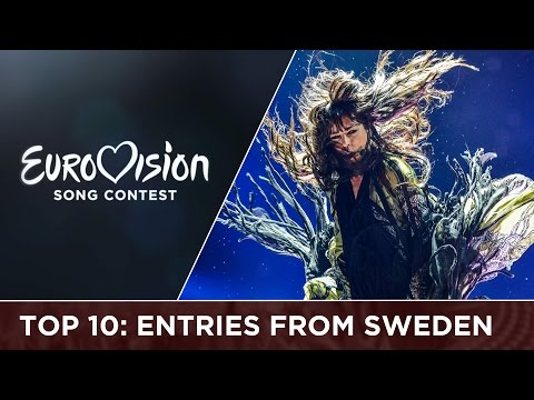 TOP 10: Entries from Sweden