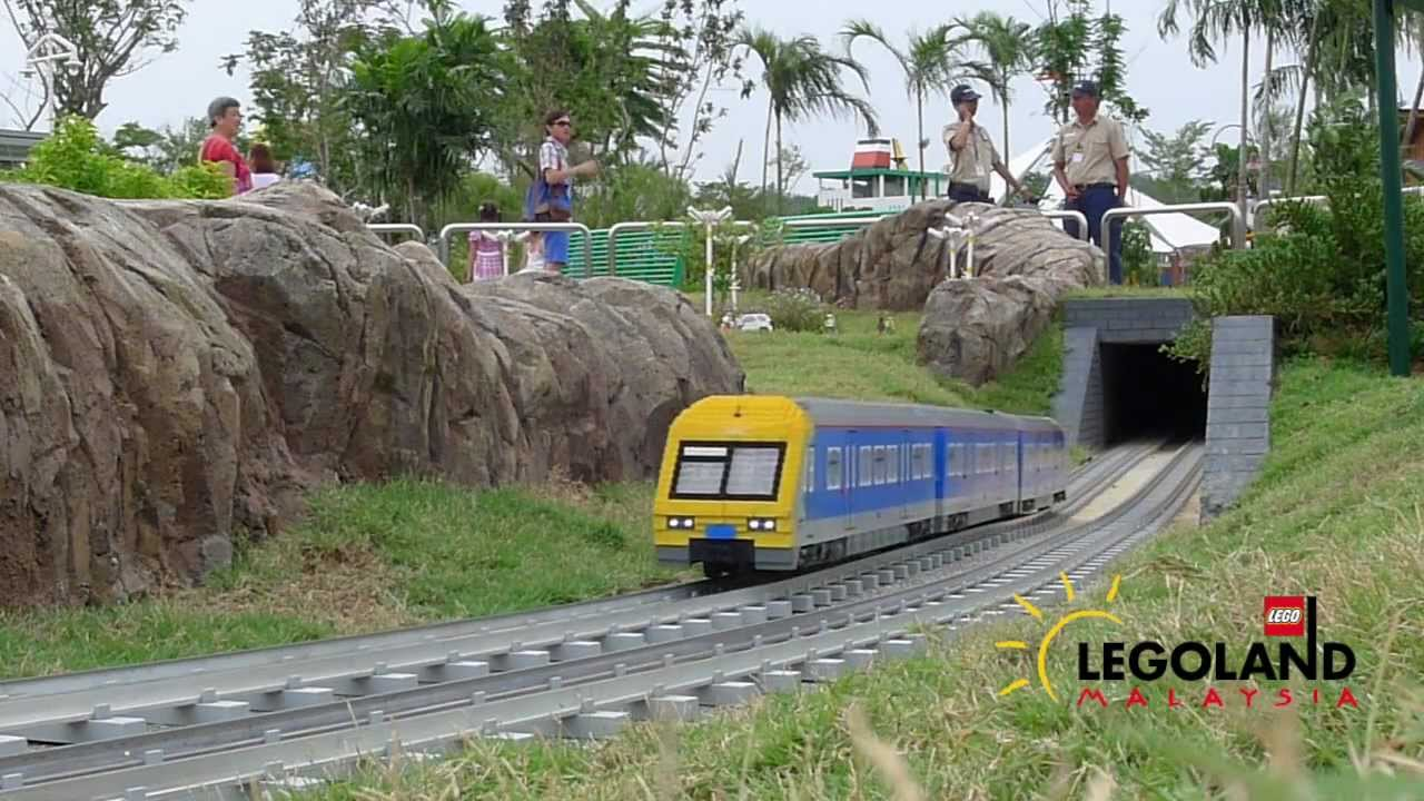 how to get to legoland by train