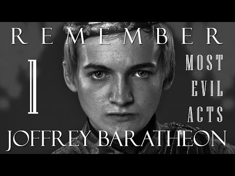 Remember Joffrey Baratheon | Most Evil Acts | Game of Thrones