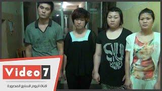 بالفيديو.. ضبط 3 صينيات أثناء ممارستهن الدعارة داخل نادٍ صحى بالمعادى