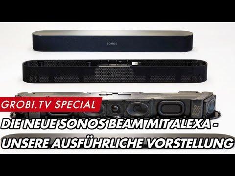 SONOS BEAM mit ALEXA - Vorstellung der neuen Soundbar   GROBI.TV