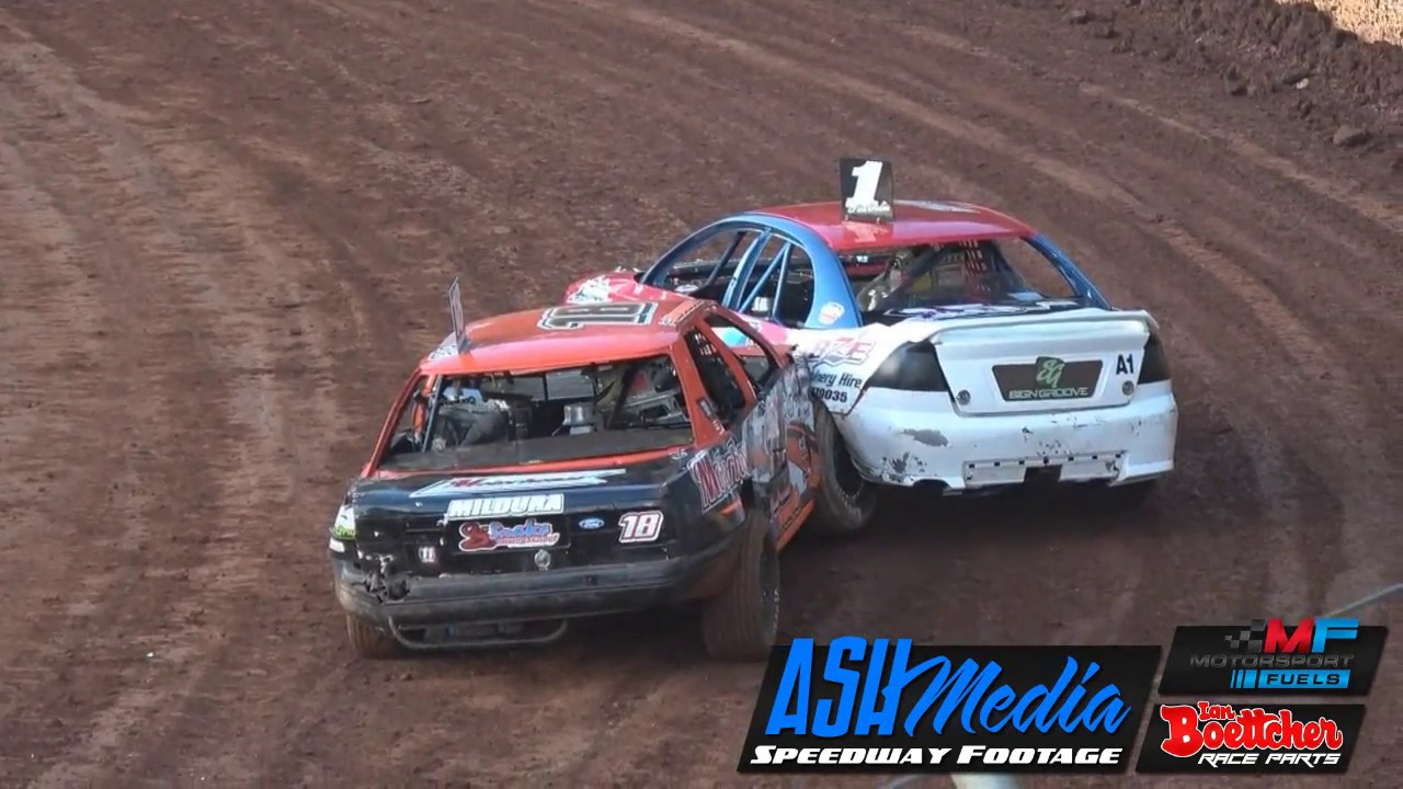 Modified Sedans Kings Royal V Round Heats Race Highlights