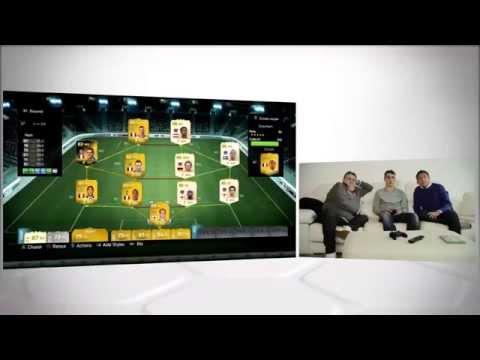 Griezmann présente son équipe FUT 14 à Menes & Riolo