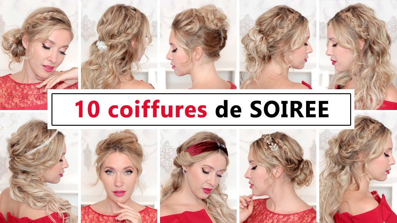 coiffure facile cheveux mi long mariage cheap coiffure facile faire en ides cheveux longs et. Black Bedroom Furniture Sets. Home Design Ideas