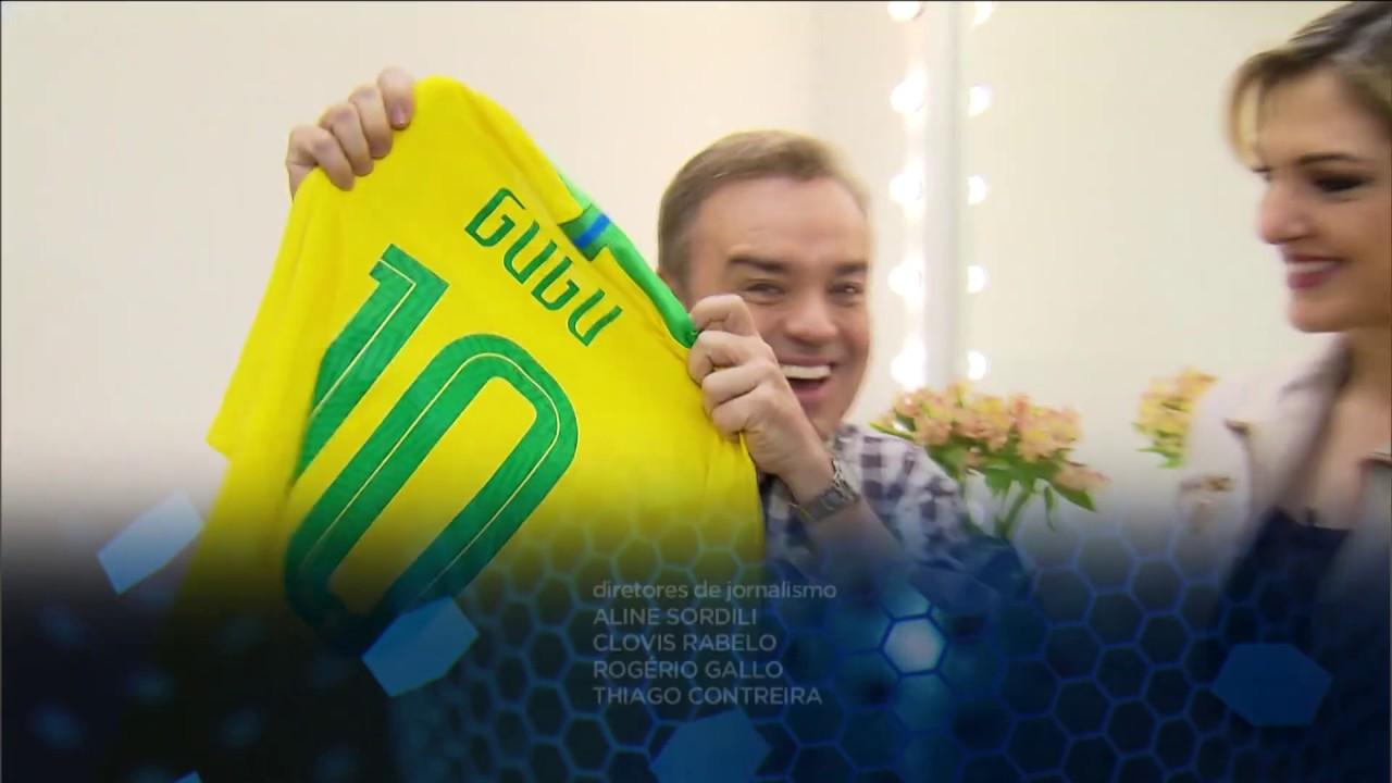 Esporte Fantástico lembra carinho dos times de futebol por Gugu