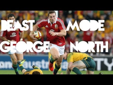 Beast Mode | George North
