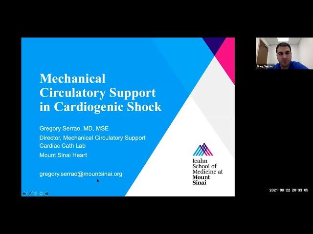 Mechanical Circulatory Support in Cardiogenic Shock