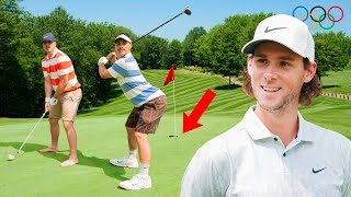 Playing GOLF with a Pro Golfer ft. Thomas Pieters